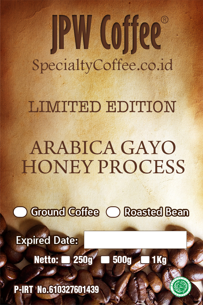 Arabica Gayo Honey Process