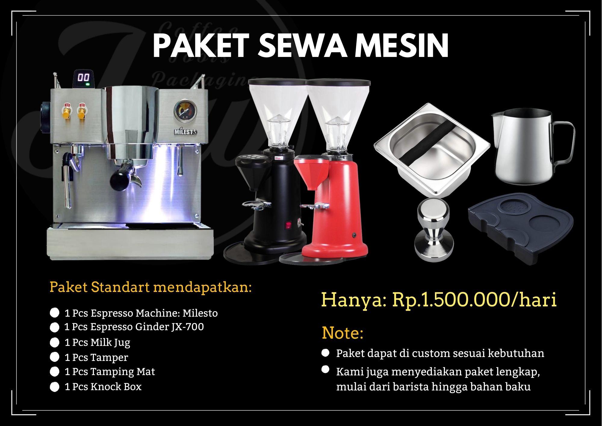 Rent Espresso Mesin Paket Sewa Mesin Kopi Coffeeshop Co Id Jual peralatan coffee shop